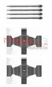 Монтажный комплект тормозных колодок METZGER 109-1636
