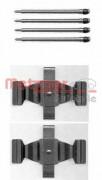 Монтажный комплект тормозных колодок METZGER 109-1643