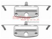 Монтажний комплект гальмівних колодок METZGER 109-1644