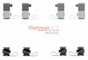 Монтажный комплект тормозных колодок METZGER 109-1699