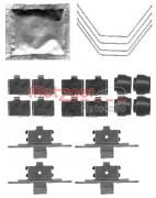 Монтажний комплект гальмівних колодок METZGER 109-1791