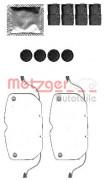 Монтажный комплект тормозных колодок METZGER 109-1792