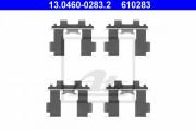 Монтажный комплект тормозных колодок ATE 13.0460-0283.2