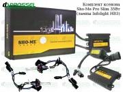 Ксенон Sho-Me Pro slim / Infolight HB3 (9005) (3000K, 4300K, 5000K, 6000K, 8000K) Xenon