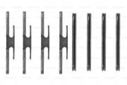 Монтажный комплект тормозных колодок BOSCH 1987474129
