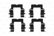 Монтажный комплект тормозных колодок BOSCH 1987474231