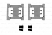 Монтажный комплект тормозных колодок BOSCH 1987474352