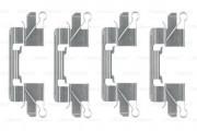 Монтажный комплект тормозных колодок BOSCH 1987474477