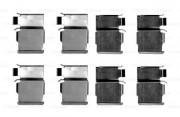 Монтажный комплект тормозных колодок BOSCH 1987474605