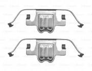 Монтажный комплект тормозных колодок BOSCH 1987474693