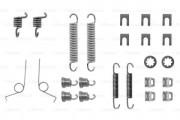 Монтажный комплект тормозных колодок BOSCH 1987475030