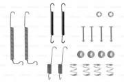 Монтажный комплект тормозных колодок BOSCH 1987475081