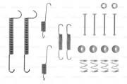 Монтажный комплект тормозных колодок BOSCH 1987475098