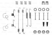 Монтажный комплект тормозных колодок BOSCH 1987475100