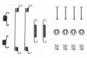 Монтажный комплект тормозных колодок BOSCH 1987475101