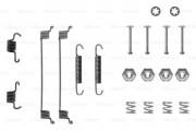 Монтажный комплект тормозных колодок BOSCH 1987475116