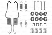 Монтажный комплект тормозных колодок BOSCH 1987475117