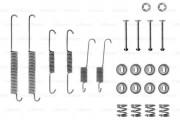 Монтажный комплект тормозных колодок BOSCH 1987475157