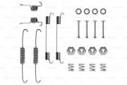 Монтажный комплект тормозных колодок BOSCH 1987475160