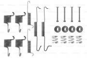Монтажный комплект тормозных колодок BOSCH 1987475178