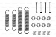 Монтажный комплект тормозных колодок BOSCH 1987475191