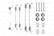 Монтажный комплект тормозных колодок BOSCH 1987475255