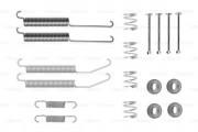 Монтажный комплект тормозных колодок BOSCH 1987475309