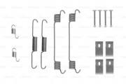 Монтажный комплект тормозных колодок BOSCH 1987475314