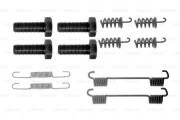 Монтажный комплект тормозных колодок BOSCH 1987475317