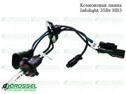 Ксеноновая лампа Infolight HB3 (9005) 35Вт (3000K, 4300K, 5000K, 6000K, 8000K)