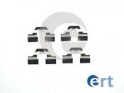 Монтажный комплект тормозных колодок ERT 420007