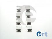 Монтажний комплект гальмівних колодок ERT 420008