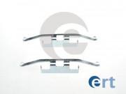 Монтажный комплект тормозных колодок ERT 420029