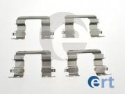 Монтажный комплект тормозных колодок ERT 420155