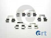 Монтажный комплект тормозных колодок ERT 420195