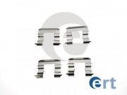 Монтажный комплект тормозных колодок ERT 420216