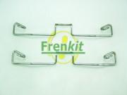 Монтажный комплект тормозных колодок FRENKIT 901633