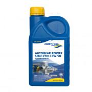 Полусинтетическое трансмиссионное масло North Sea Autogear Power Semi Synth 75W-90