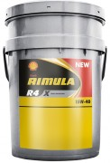 Моторное масло Shell Rimula R4 X 15W40