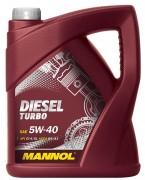 Моторное масло Mannol Diesel Turbo 5w40