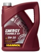 Моторное масло Mannol Energy Formula OP 5W30