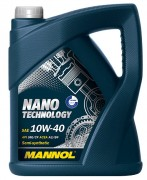 Моторна олива Mannol Nano Technology 10W40