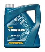 Моторное масло Mannol 7403 Standard 15W40
