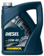 Моторное масло Mannol Diesel 15W40