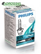 Ксеноновая лампа Philips X-treme Vision D2S 85122XVC1 35W 4800K Germany (Германия)