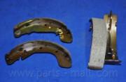 Барабанные тормозные колодки PARTS-MALL PLC-009