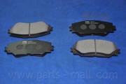 Гальмівні колодки PARTS-MALL PKF-010