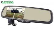 Система видеопарковки: универсальная камера заднего вида Gazer CC100 + зеркало с монитором Gazer MM50x