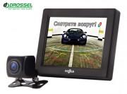 Gazer Система видеопарковки: универсальная камера заднего вида Gazer CC100 + монитор Gazer MC135