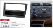 Переходная рамка Carav 11-368 Citroen Nemo 2008+, Peugeot Bipper 2008+, FIAT Fiorino 2008+ 2-DIN